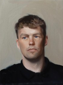 A portrait of Matthew Simmonds DH Mountain bike racer