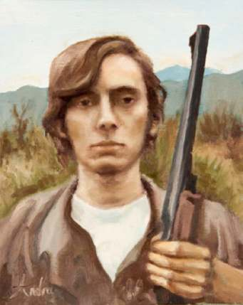 2008_Andra's painting of Daniel_with_his_Shotgun web