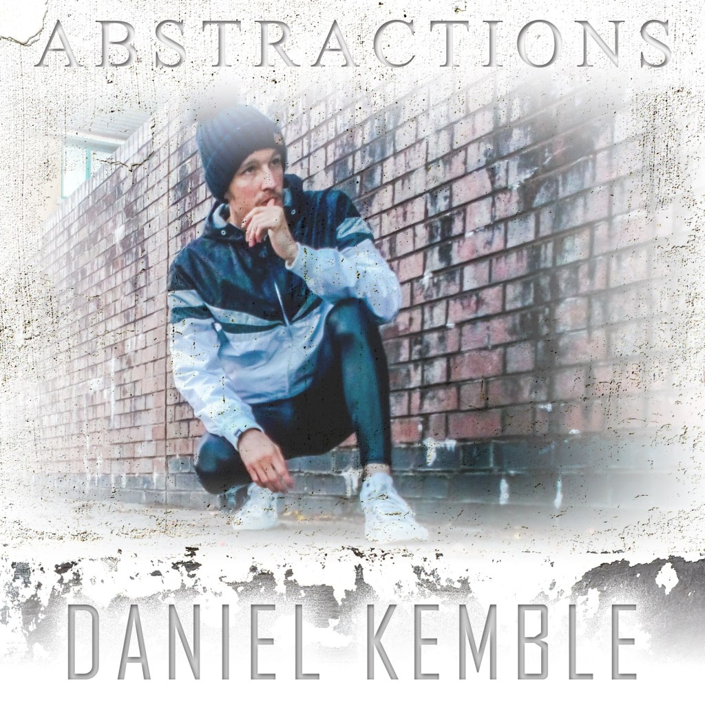 Daniel Kemble, music album cover, art, Abstractions 2021, design