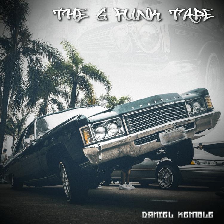 The g-funk tape, album cover, photoshop, daniel kemble, music, record, west coast