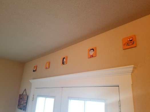 American Dad Mini Paintings