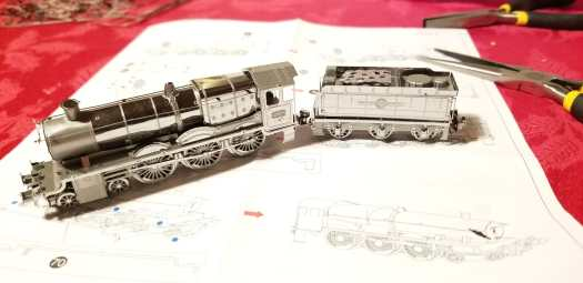 metal earth hogwarts express