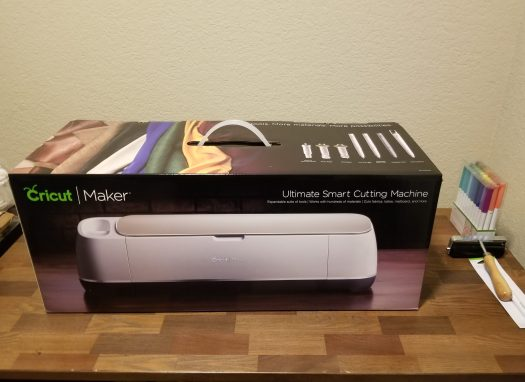 Cricut Maker in box
