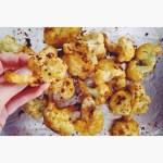 Vegan Cheesy Cauliflower