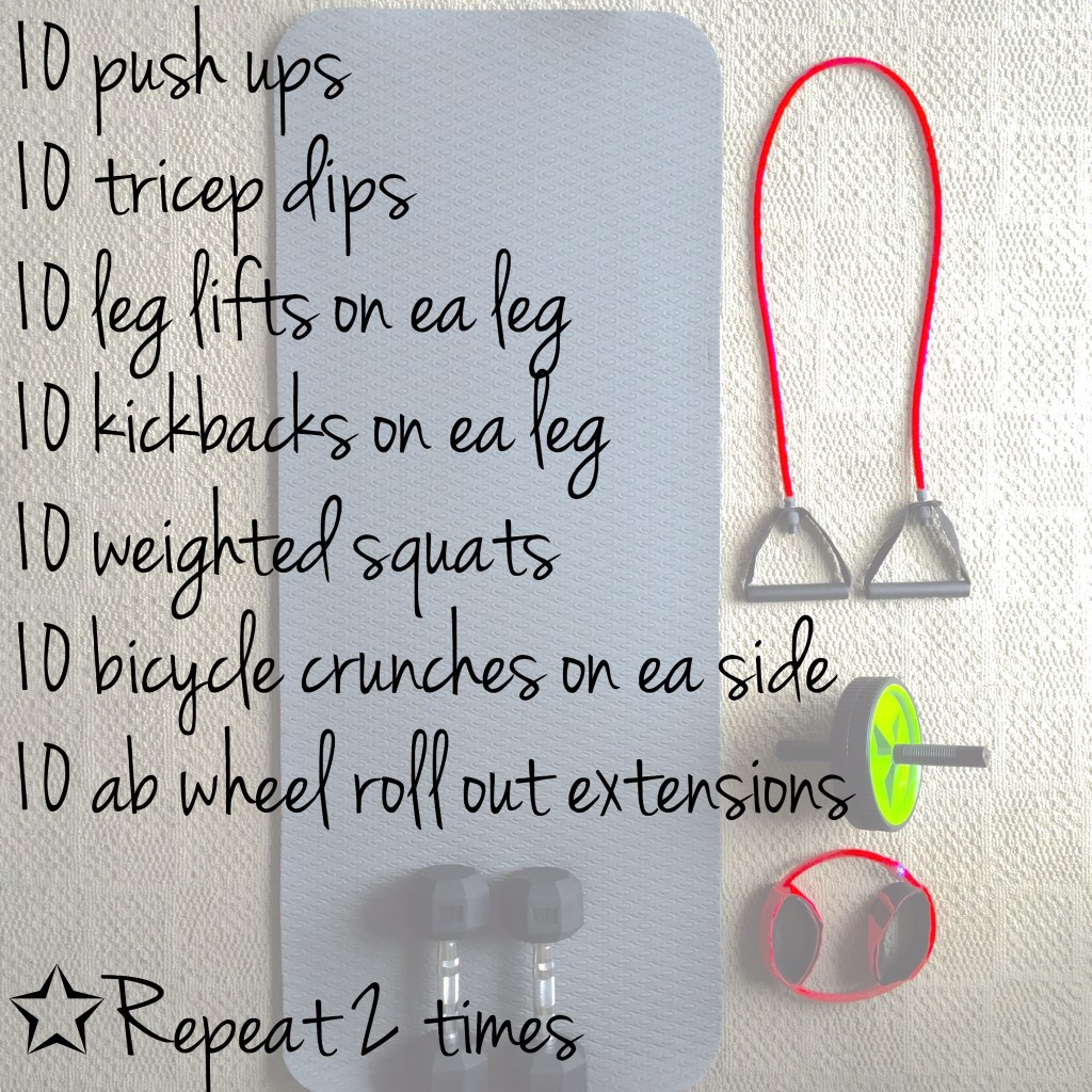 Workout Wednesday Routine
