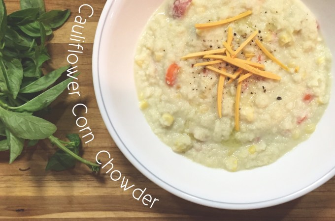 Cauliflower Corn Chowder