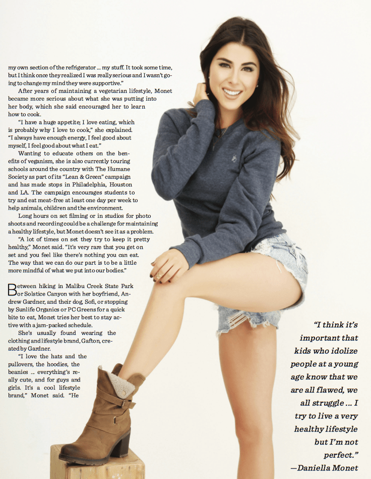 Malibu Times - Health Beauty Fitness // Cover Story with Daniella Monet