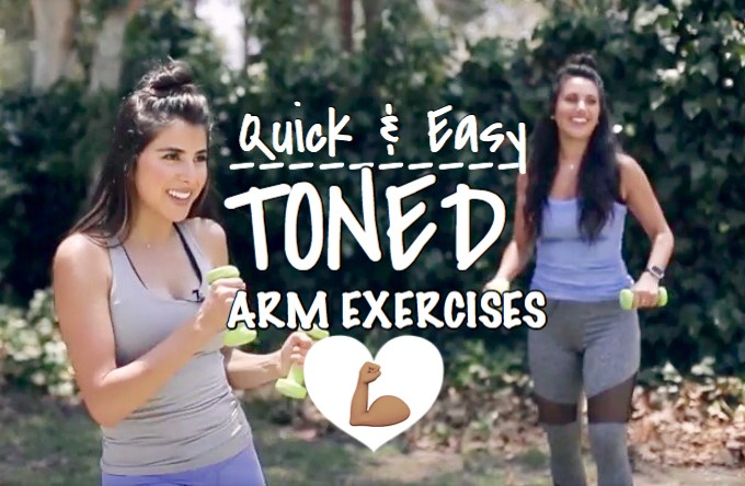 Quick & Easy TONED Arms Exercise!