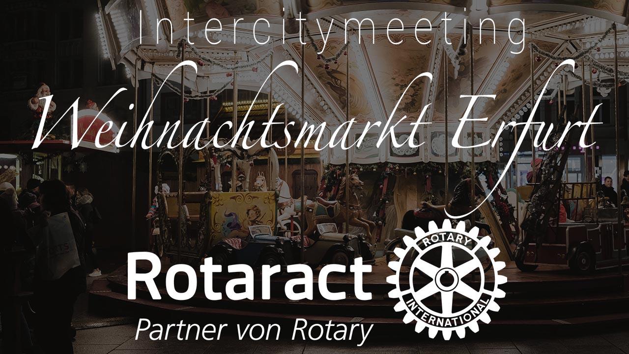 Weihnachtsmarkt 2017 Rotaract in Erfurt