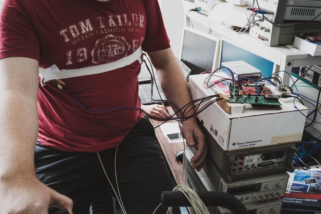 Kapazitiver EKG-Verstärker
