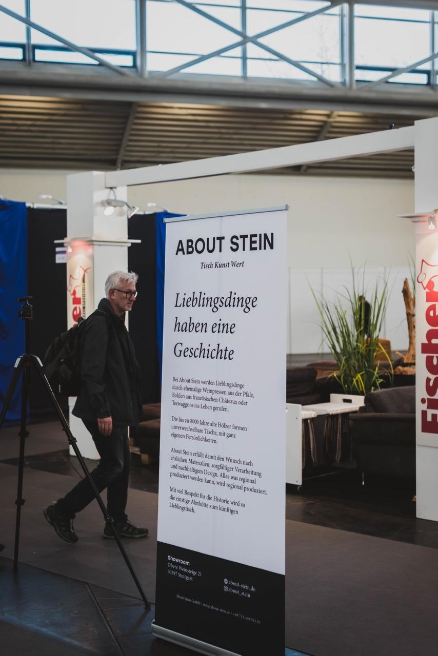 About Stein auf der IHM München 2019
