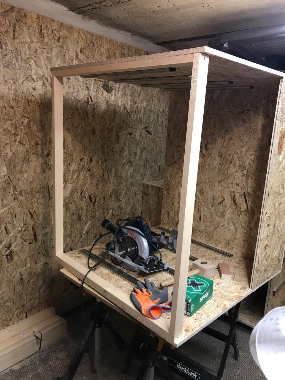 Den Keller zu einer Hobbywerkstatt ausbauen – Teil 2