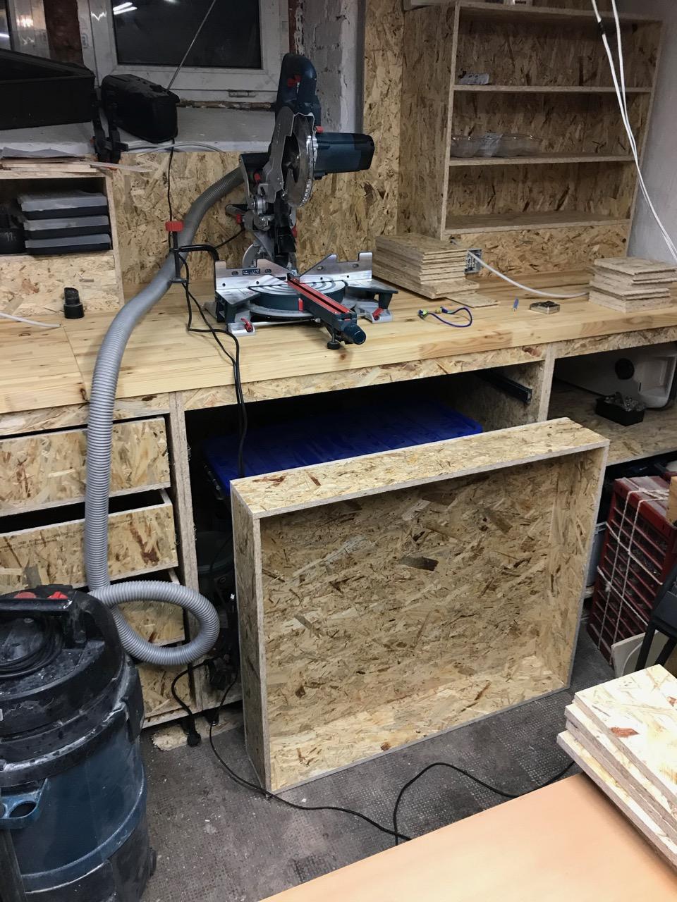 Den Keller zu einer Hobbywerkstatt ausbauen - Teil 3