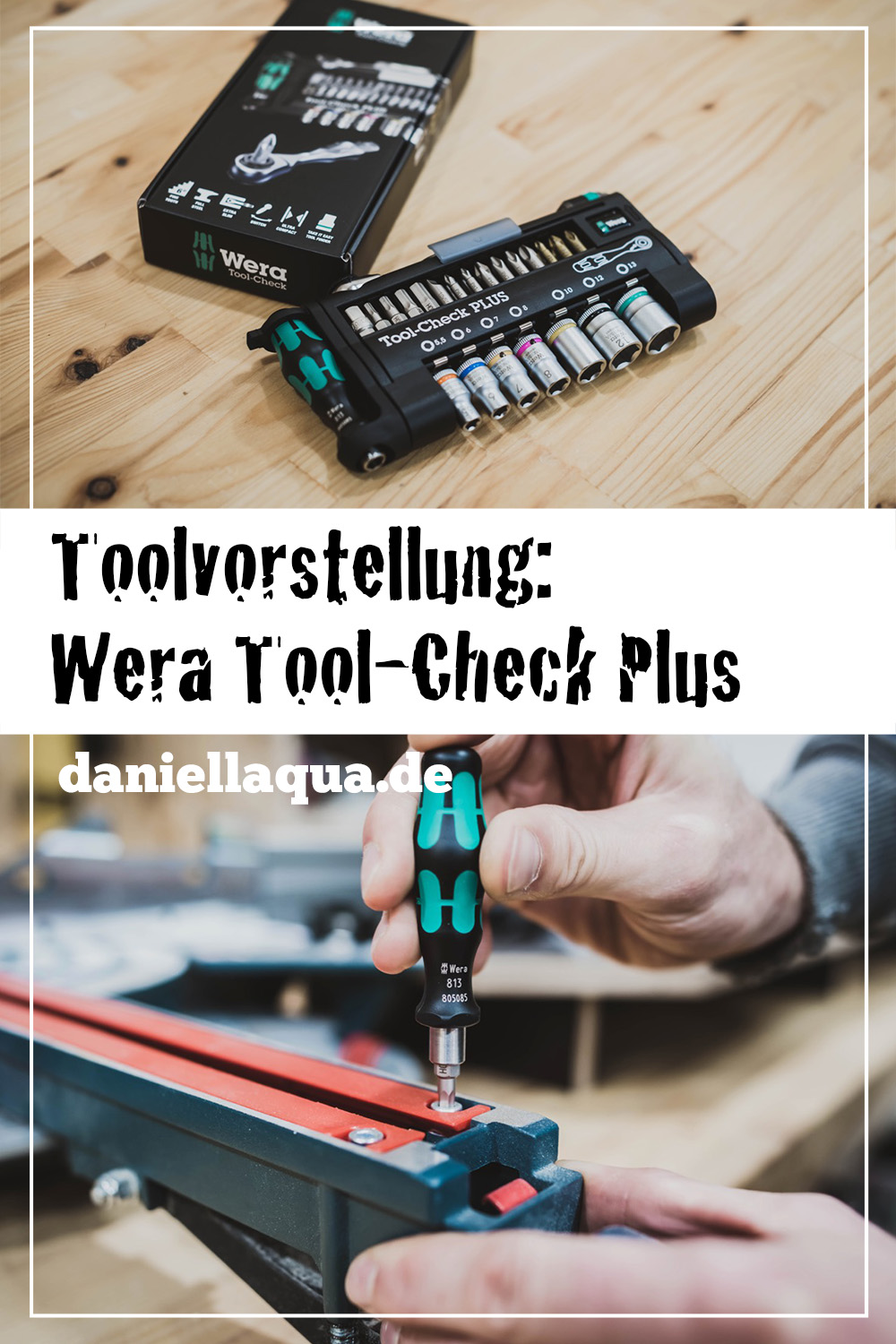 Toolvorstellung Wera Tool-Check Plus Pin