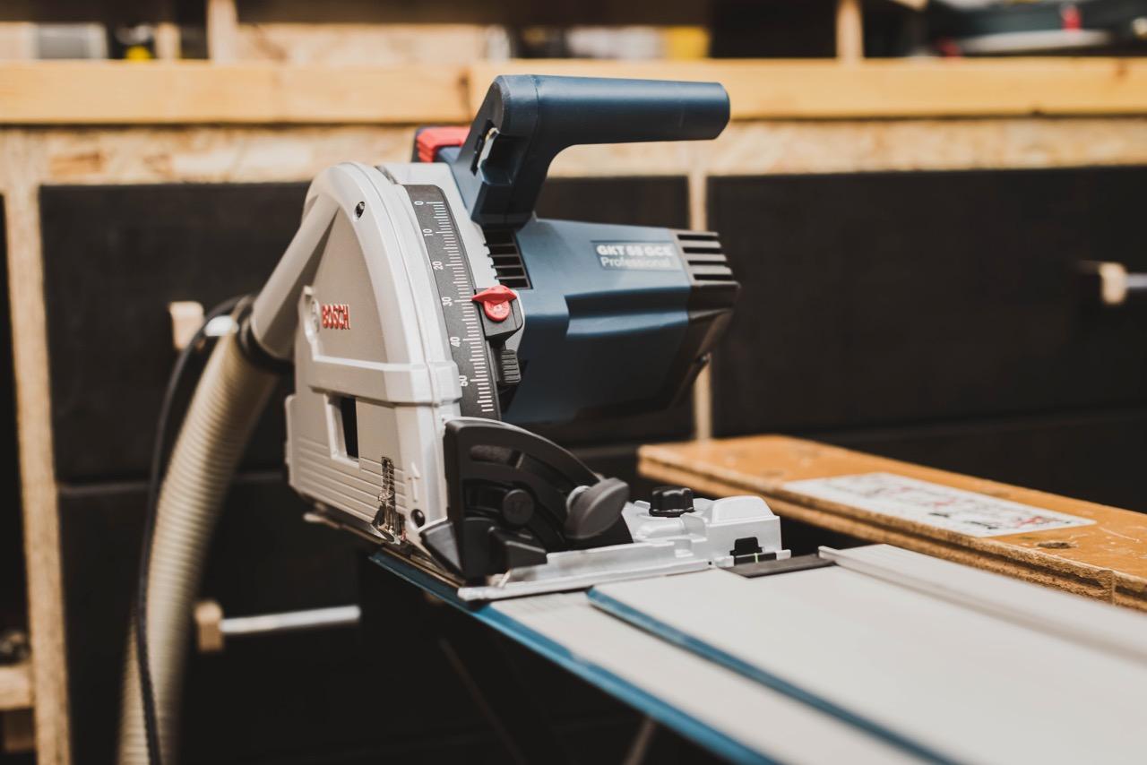 Tool Review: BOSCH Professional Tauchsäge GKT 55 GCE