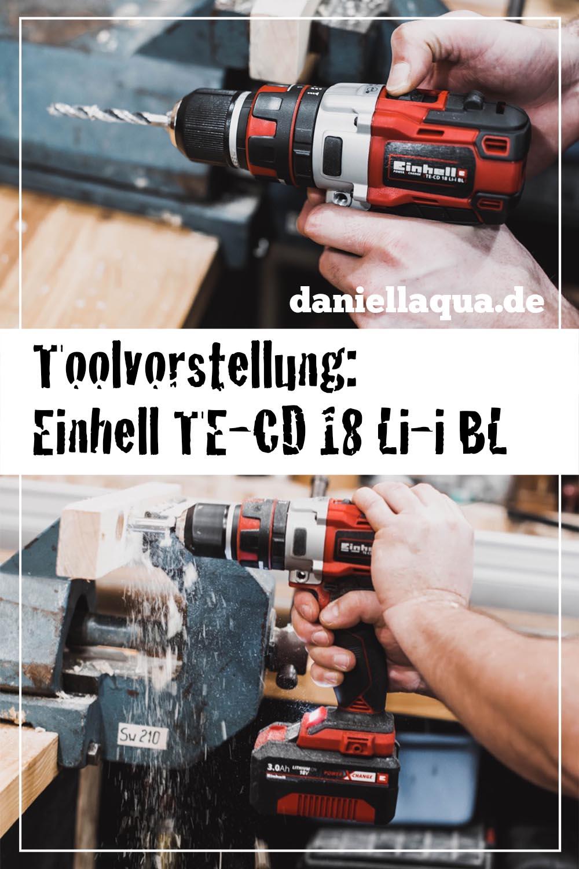 Einhell Akkuschrauber TE-CD 18 Li-i BL