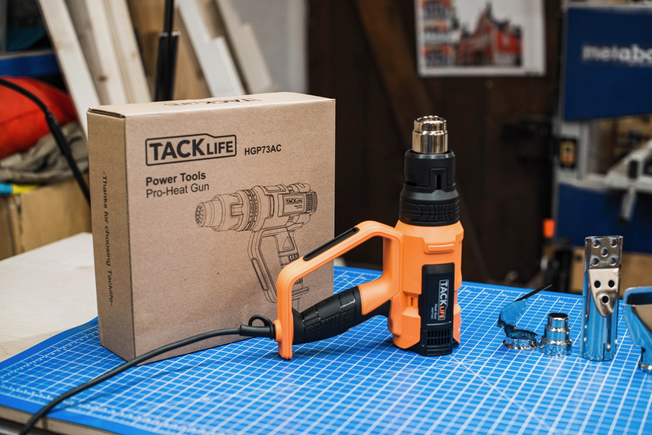 Tool Review: TackLife Heißluftpistole