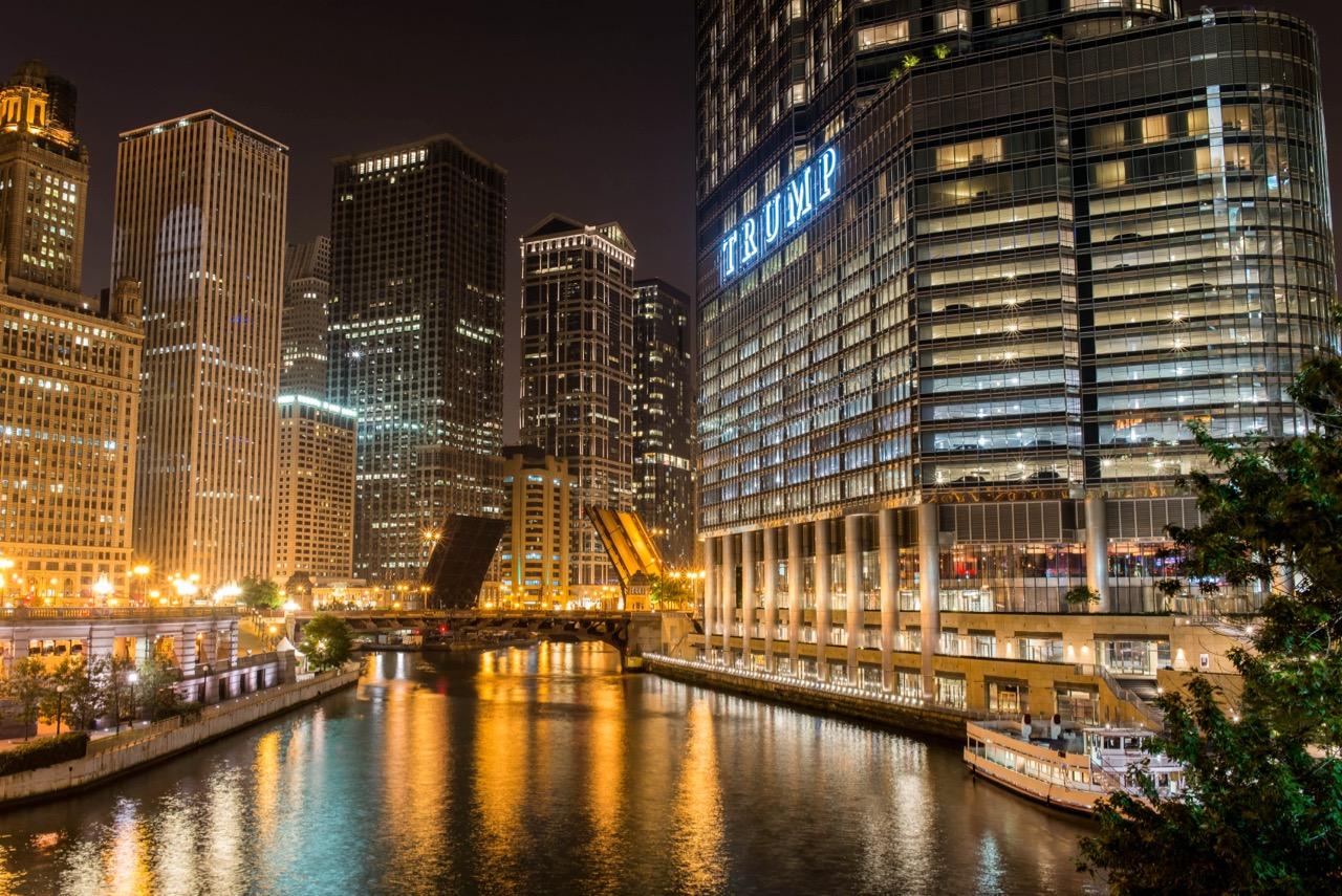 Chicago bei Nacht