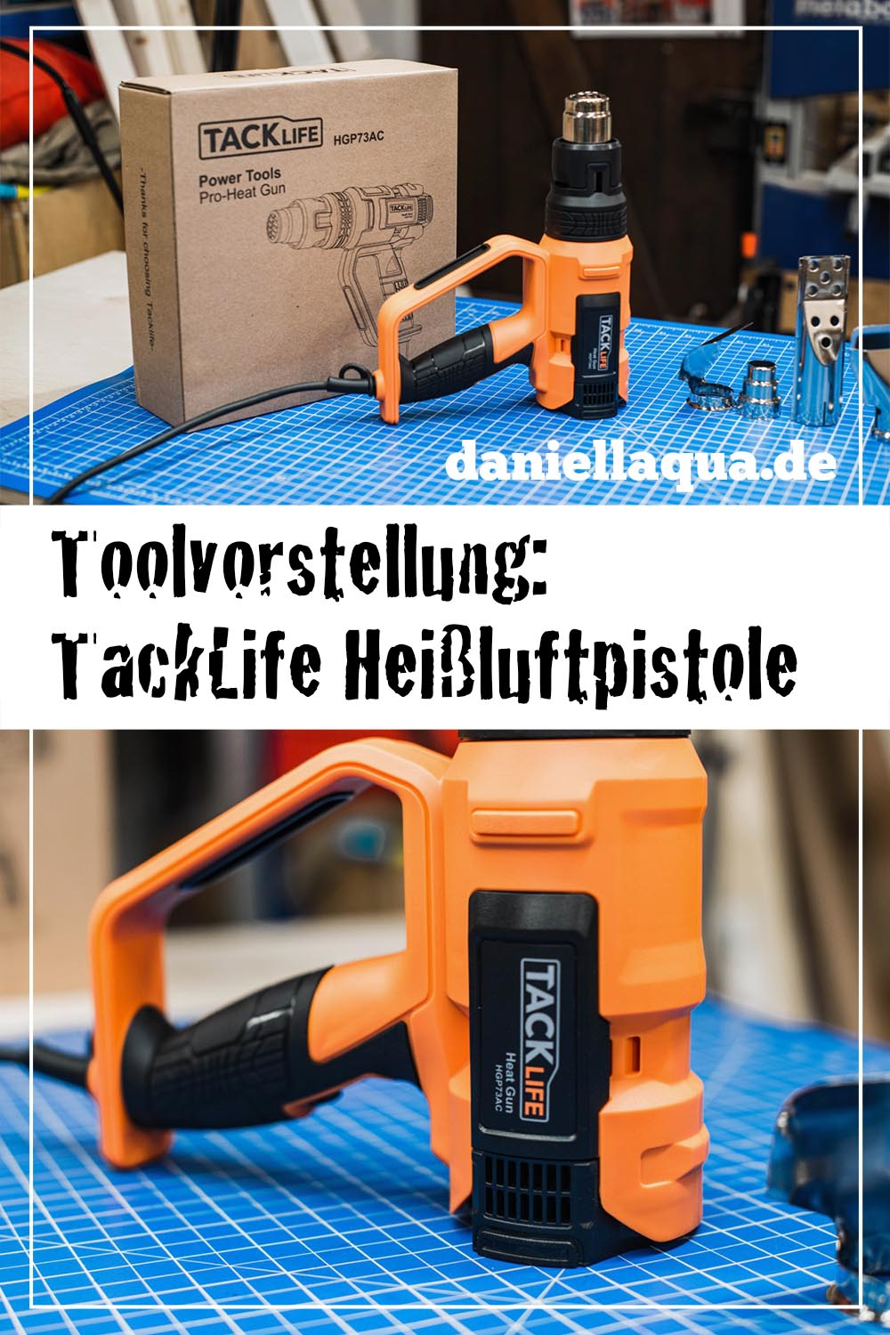 Tool Review: TackLife Heißluftpistole HGP73AC