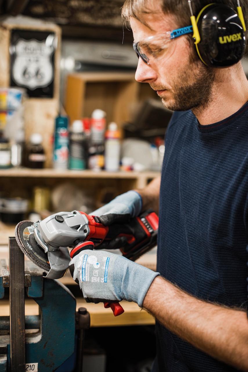 Arbeitsschutz mit UVEX