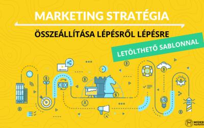 Marketing stratégia összeállítása lépésről lépésre + letölthető minta