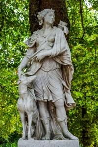 artemis, diana, sculpture
