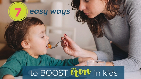 7 simple ways to boost your child's iron intake