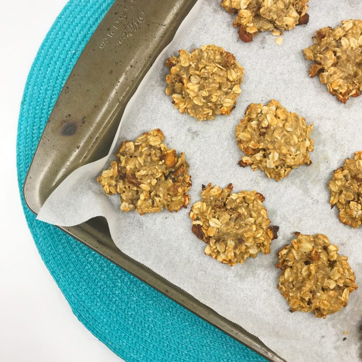3 ingredient gluten-free cookies