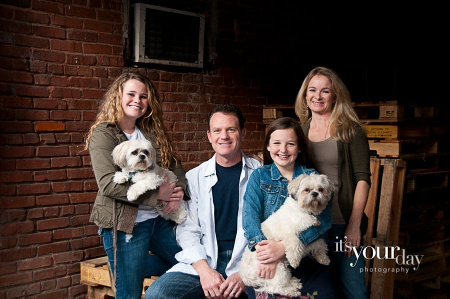 grueber family portrait session | canton ga