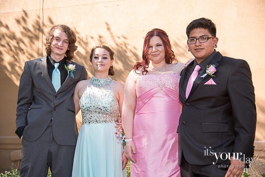Prom Portraits Atlanta GA | Ariel & Friends