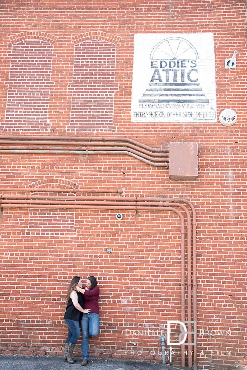 decatur engagement photos atlanta wedding photographer