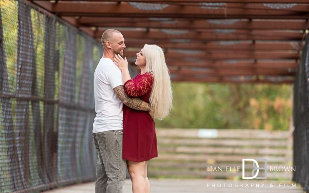 Decatur Waterworks Engagement Photography | Keller