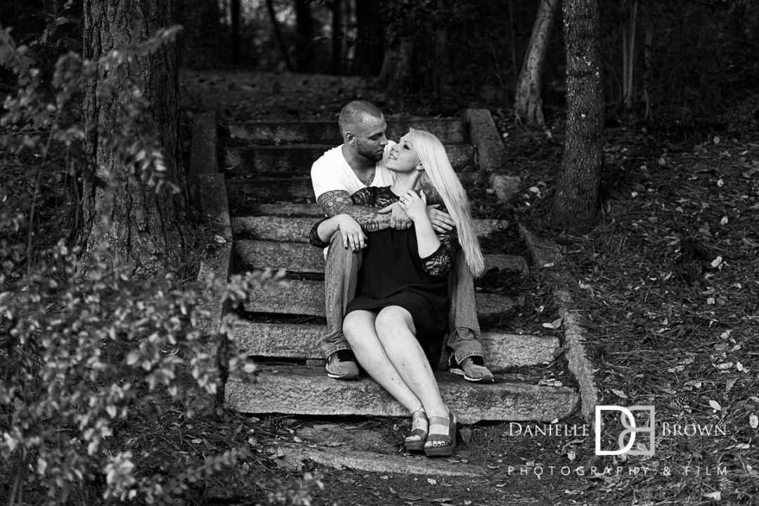 decatur waterworks engagement photography
