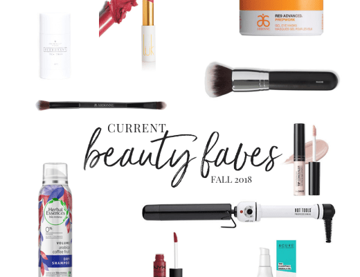 Current Beauty Faves - Danielle Comer Blog