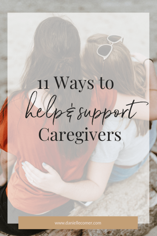 Support a Caregiver Pin - Danielle Comer Blog
