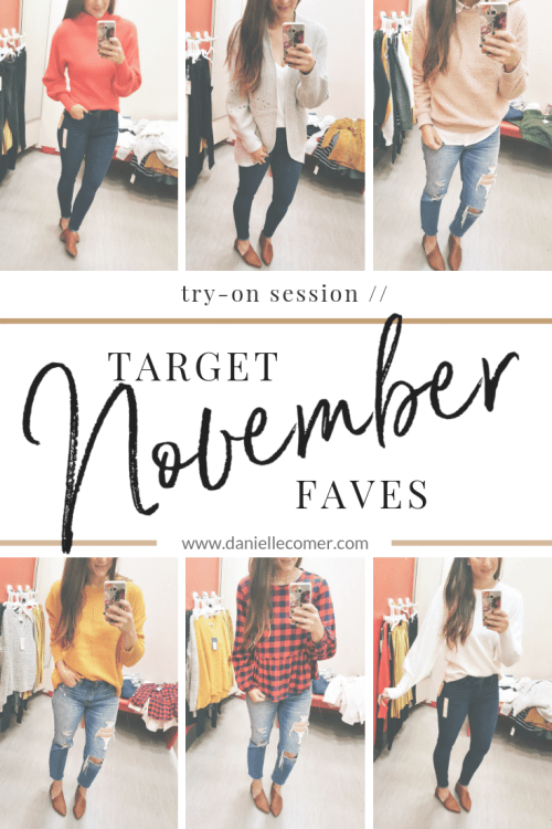 Target November Faves - Danielle Comer Blog