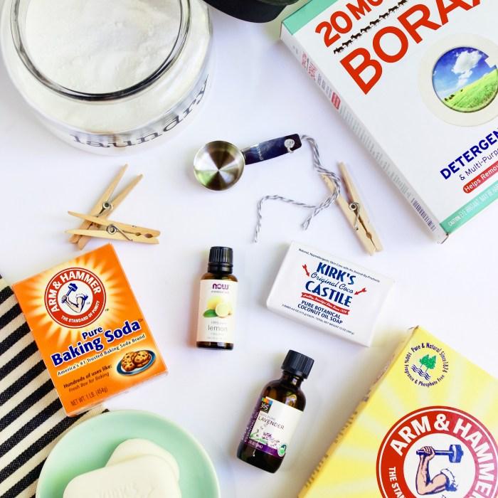 homemade laundry soap - Danielle Comer Blog square