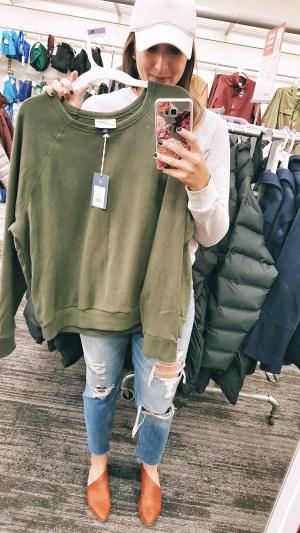 94cf019d7fd99 Universal Thread Crewneck Sweatshirt (I like a size M in this)