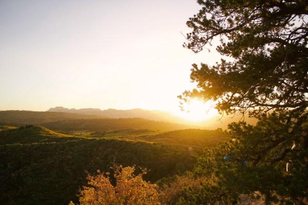 Spark Retreat sunset Zion National Park - Danielle Comer Blog