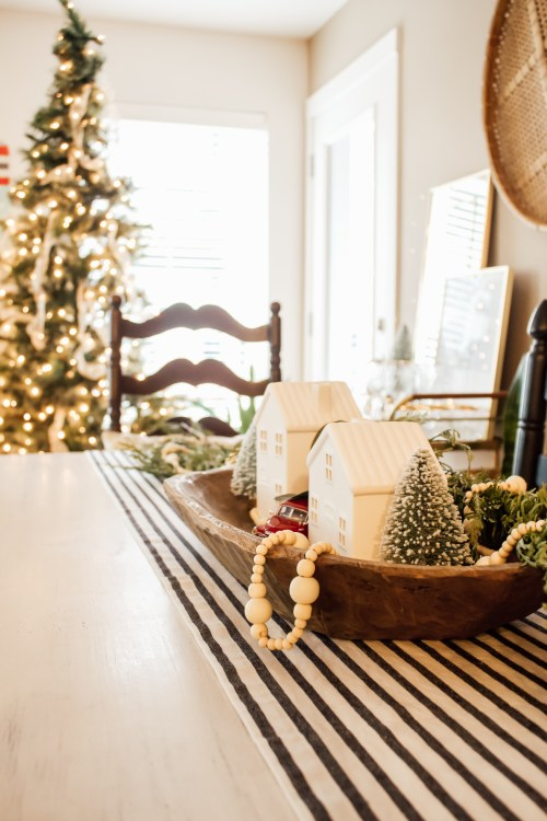 cozy winter decor target hearth and hand tablescape - Danielle Comer Blog