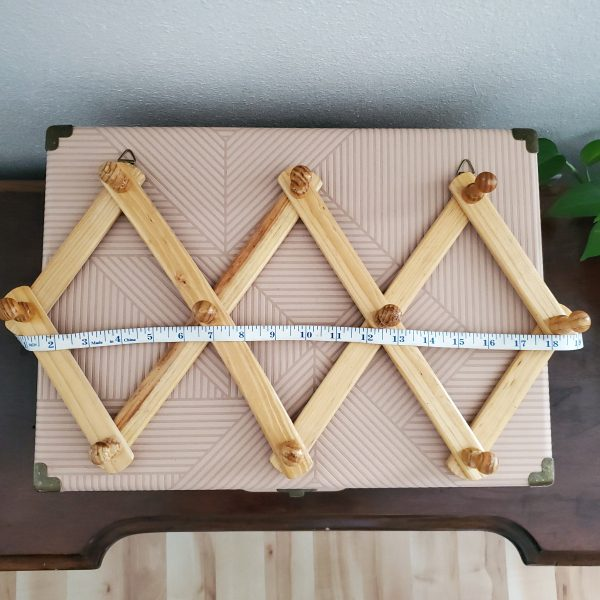 vintage accordion peg rack - South by PNW Vintage