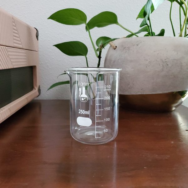 vintage glass beaker - South by PNW Vintage