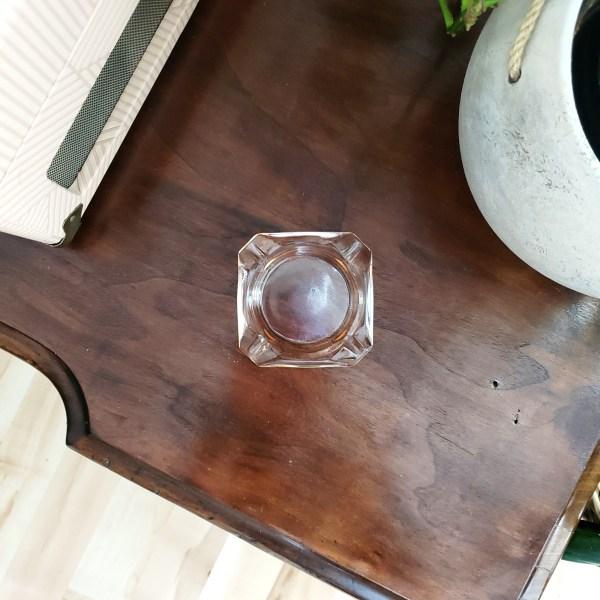 vintage blush ashtray - South by PNW Vintage