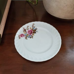 034 - vintage fall floral dish - South by PNW Vintage