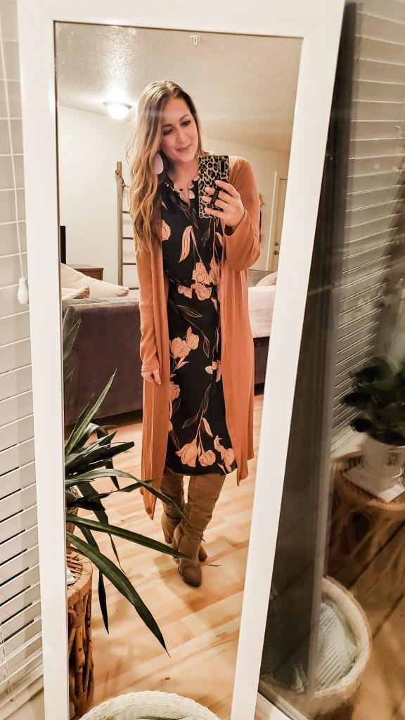 current target faves floral dress - danielle comer blog