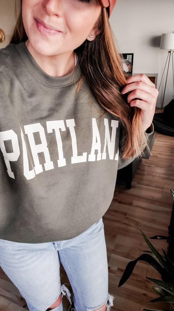 portland sweatshirt target faves - danielle comer blog