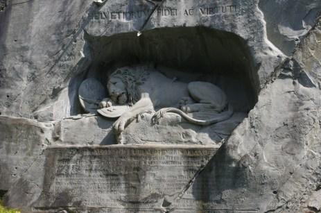 The Lion of Lucerne (Löwendenkma)