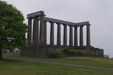 National Monument of Scotland - honoring those who died in the Napoleonic wars