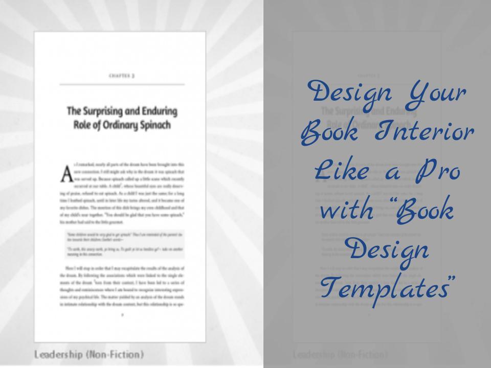 design your book interior like a pro with book design templates danielle fetherson