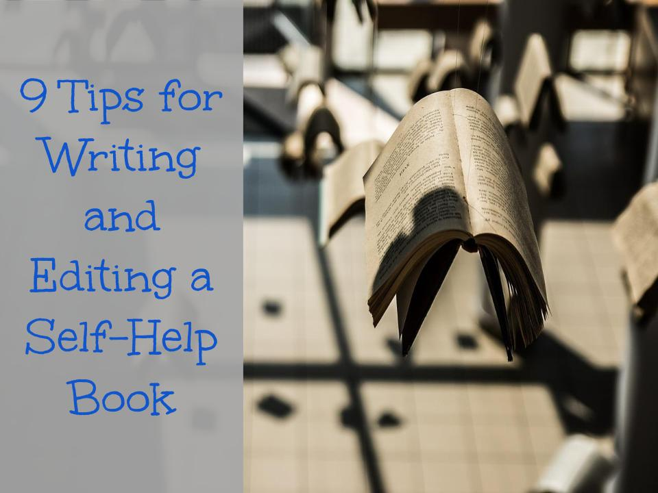 how to structure a self help book
